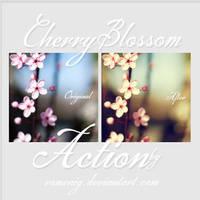 Cherry Blossom Free Action by Romenig