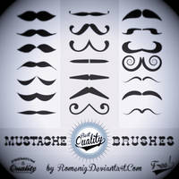 Mustache Free PS Brush Set by Romenig