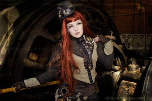 Meli at Steampunk Convention Luxembourg 2011 by MADmoiselleMeli