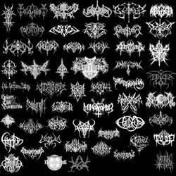 Black Pagan Metal Logodesigns by MADmoiselleMeli