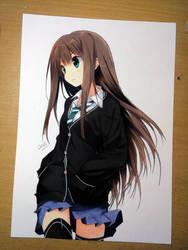 anime girl 2 by Elevenxixer