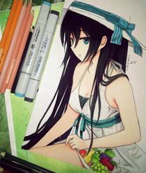 anime girl 3 by Elevenxixer