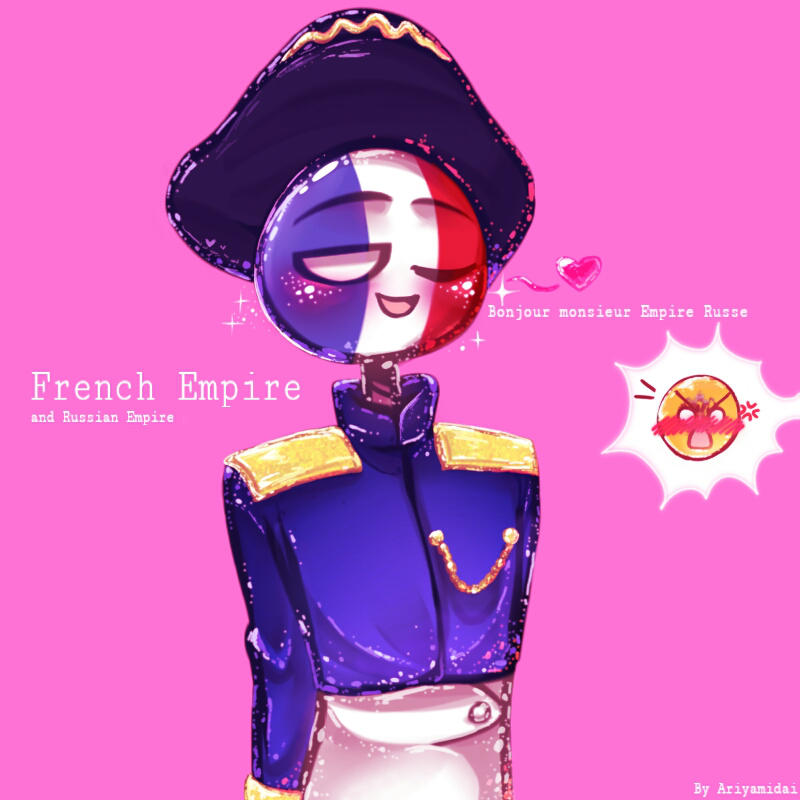 Countryhumans French Empire 2 By Ariyamidai On Deviantart-2685