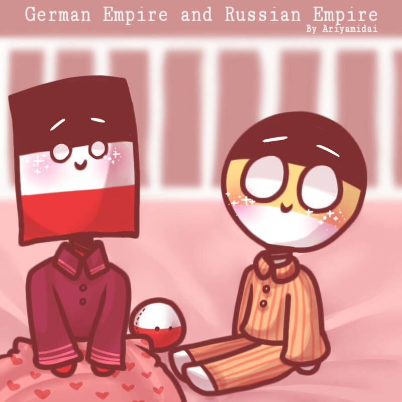Countryhumans: GermanEmpire and RussianEmpire ~ by ...