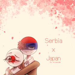 Countryhumans: SerbPan anime ~ by Ariyamidai