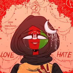 Countryhumans: Sad Valentine. . . by Ariyamidai