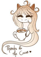 Thank chu for cocoa by Jeyawue