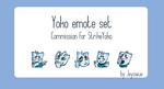 [$] Yoko Emote Set by Jeyawue