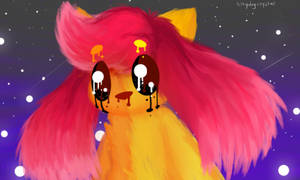 bright hair by kittydogcrystal