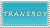Transboy Stamp by OrionSpaceNoise