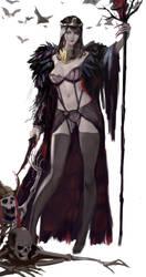 Vampire Queen by MikazukiShigure