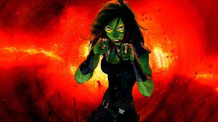Gamora Wallaper by Franky4FingersX2