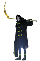 Uncle Death Render by Franky4FingersX2