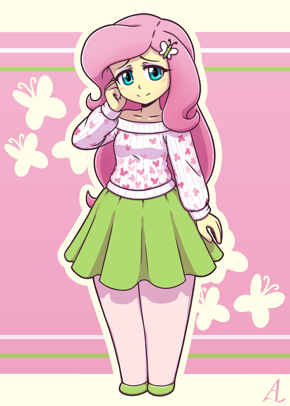 Fluttershy: Aid (or trying to) by AcesRulez13 on DeviantArt