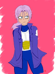 Mirai Trunks (Lavender Hair) by Trezion