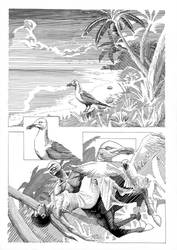 Seahorse comic page 1 by G-Brewer