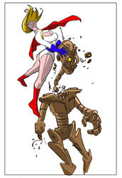 Power Girl by G-Brewer