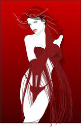 Redgirl01 by Brian-aka-Anarion