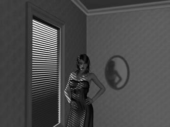 Zoe Reika BW by Brian-aka-Anarion