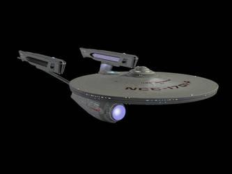 Enterprise Dorsal Oblique by Brian-aka-Anarion