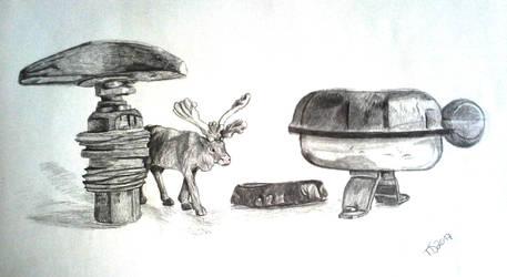 Als die Tiere den Wald verliessen 1 by Mintnadt