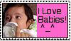 I Love Babies Stamp by FarrynMable