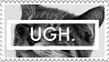 UGH stamp by wuddle