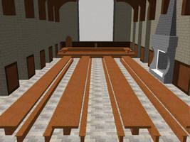 MMD Great Hall Stage by OtakuxxGirl12