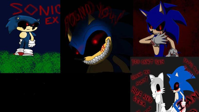 Sonic Exe Wallpaper By Kallenthefighter On Deviantart