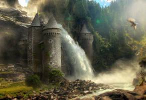 Saints Castle by bjornfoto