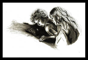 Peter and Wendy Lady by jeminabox