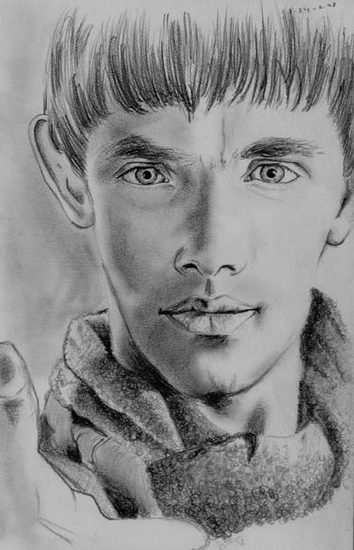 Sick Day Sketch - Merlin 1 by jeminabox