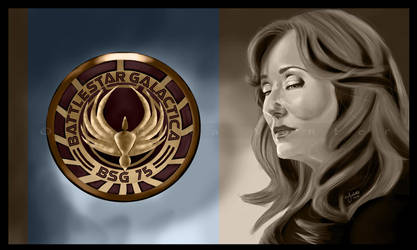 BSG: President Roslin by jeminabox