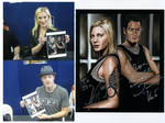 Katee + Tahmoh Signed Painting by jeminabox