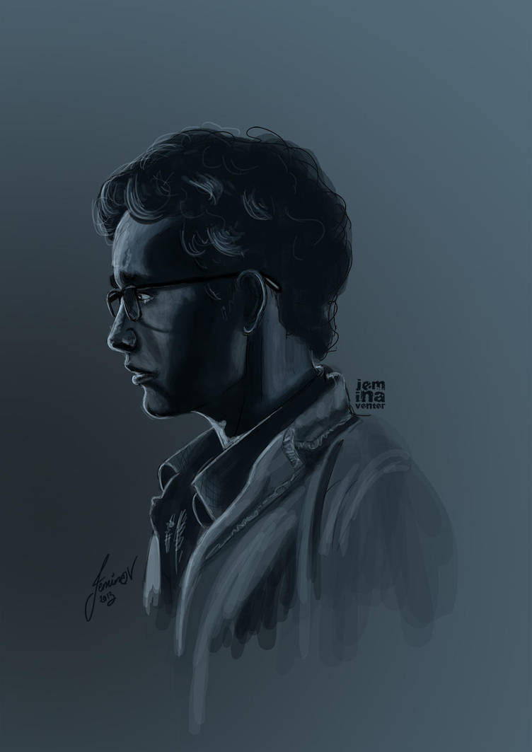 Simon Lewis: A Study in Blue by jeminabox