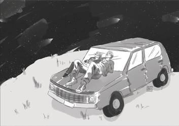 TFIOS Untold Moments: Stargazing by jeminabox