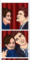 Photo Booth: Hazel and Gus by jeminabox