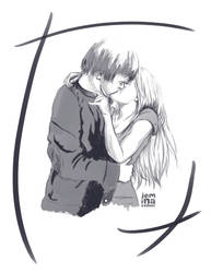 Heartland: Amy x Ty Sketch by jeminabox
