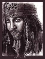 Cap'n Jack Sparrow by jeminabox