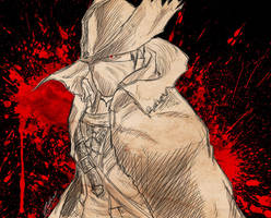 Hunter sketch by HarebSeraph