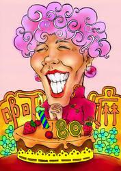 grandmum 80 birthday by supermarkie
