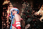 Jinx Christmas - League of Legends by An0therSide