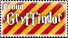 Gryffindor Stamp by Softijshamster