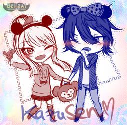 [KazuSen] Disney Date! by Bel-lawl