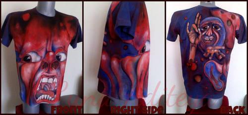 Customized T-shirt: King Crimson by LunaAditeya