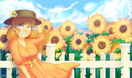 Sunflower by MoraSanders