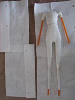 BJD Body, Progress Shot 2 by Prysm