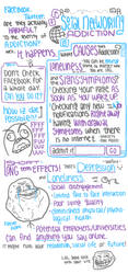 Social Networking Addiction by xLavenderKisses