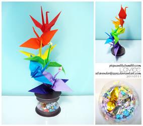 Cranes by xLavenderKisses