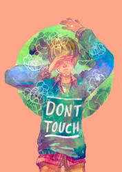 Don't Touch by geraldus